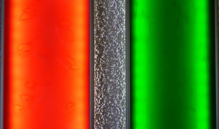 Visuelle Klangräume 2, 3 mit LED