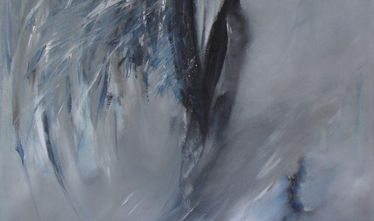Aleatorik IV, 70 x 105 cm
