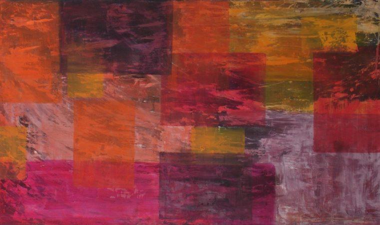 Klangflaechen Serie 1-III, 60 x 105 cm
