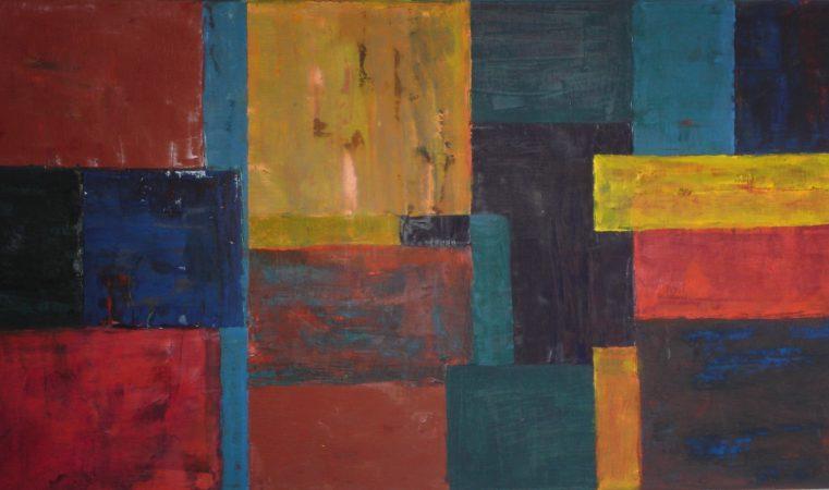 Klangflaechen Serie 2-III, 60 x 105 cm