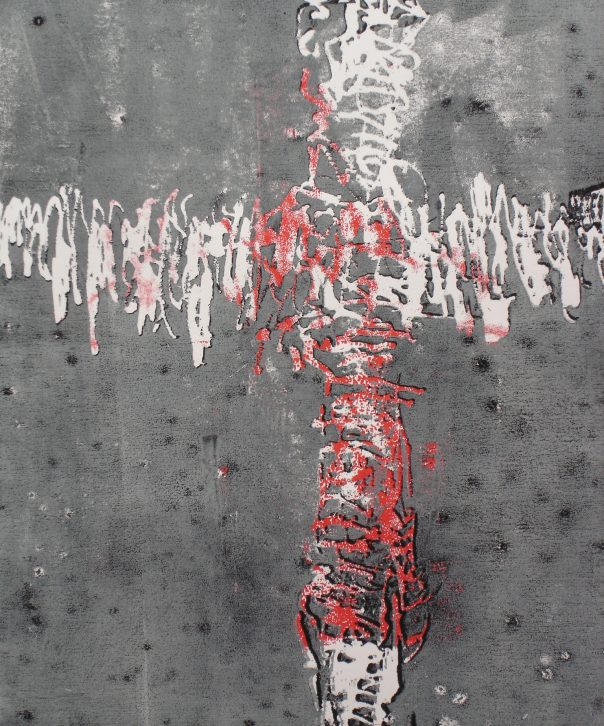 Kreuz - Holzschnitt (3)