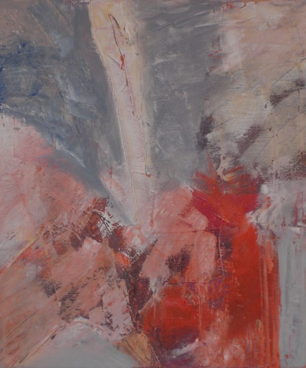 """animato"" Öl auf Leinwand, 40 x 40 cm, 2010"
