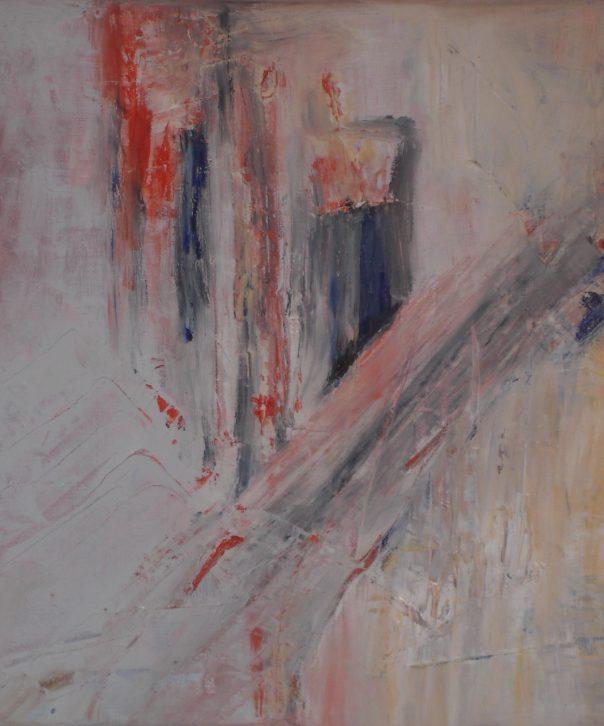 """stretto"" Öl auf Leinwand, 40 x 40 cm, 2010"